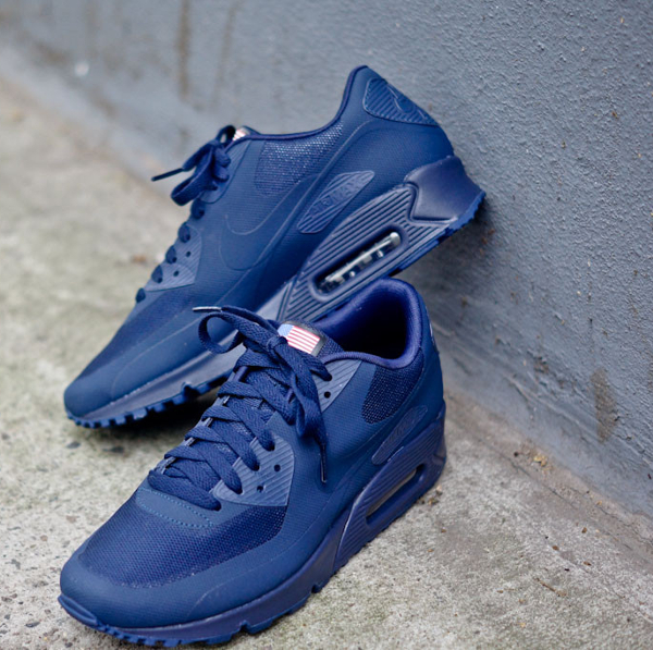 nike air max 90 hyperfuse bleu