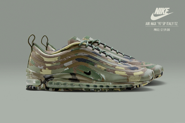 Nike Air Max 97 SP Camouflage «Italy» – sortie le 06/07/2013