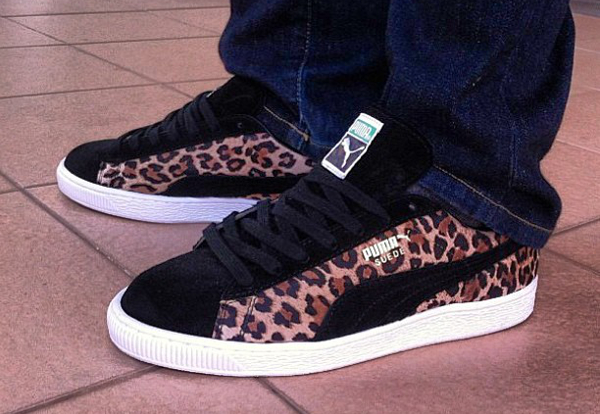 comment nettoyer puma suede