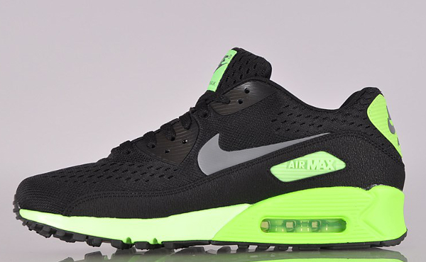 Nike Air Max 90 Premium Tape Blue Hero Black Flash Lime Red