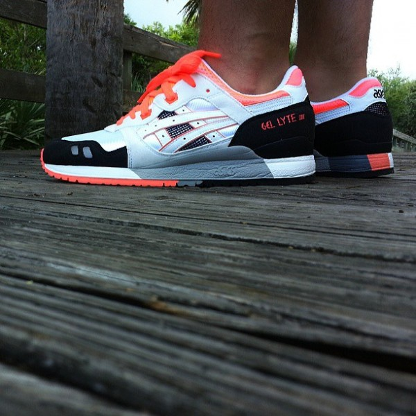 Asics Gel Lyte 3 Orange