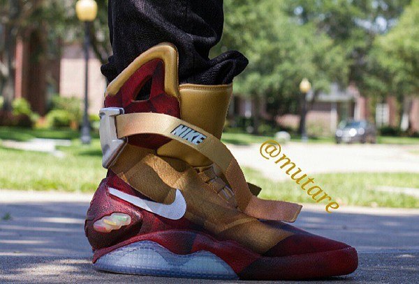La Nike Mag Ironman en 5 images
