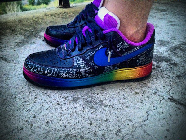 Nike X Busy P Air Force 1 Livestrong Dazed