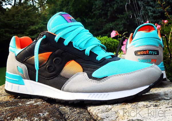Saucony Shadow 5000 x West NYC « Tequila Sunrise »