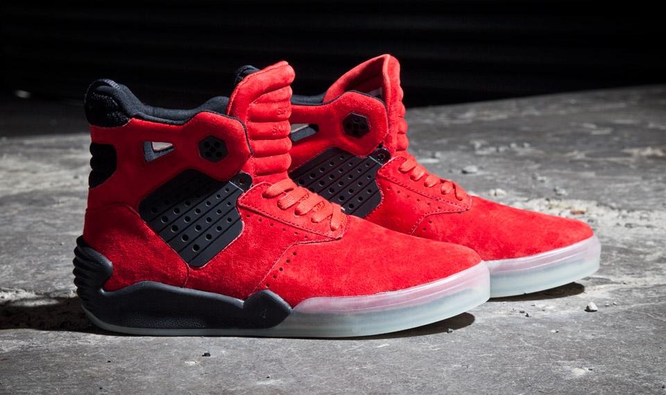 Supra Skytop 4 Red