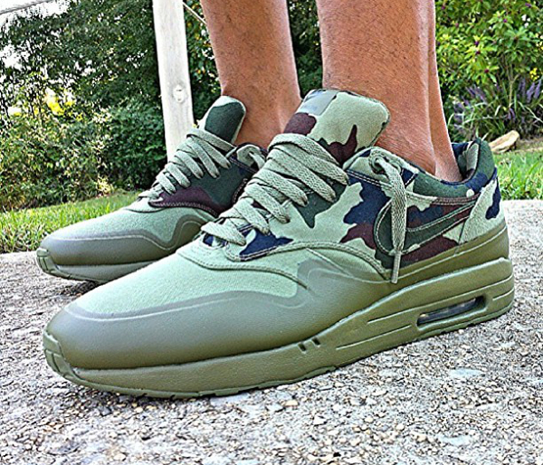 Nike Air Max 2013 Camouflage Army Green Black