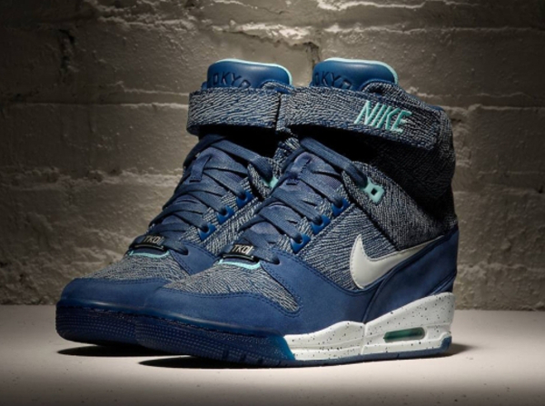 nike air revolution sky hi bleu