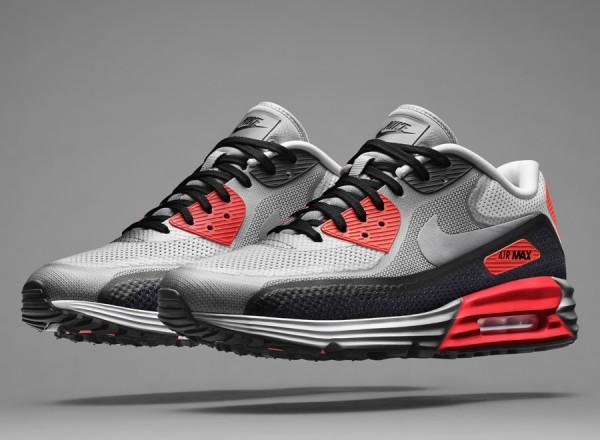 Nike Air Max Lunar90 Infrared & Concord