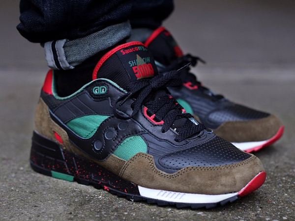Saucony Shadow 5000 x West NYC «Cabin Fever»