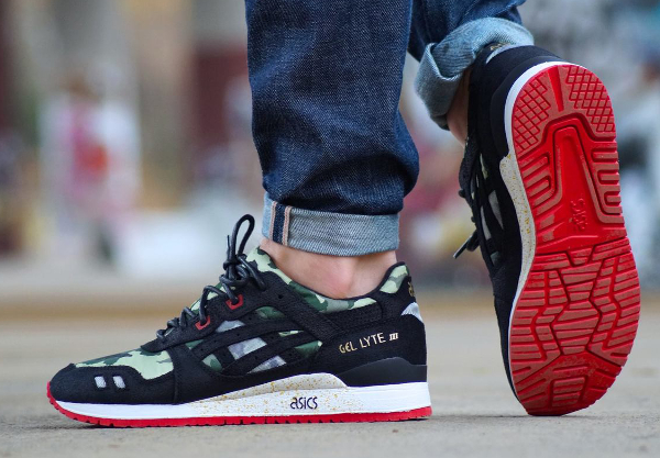 asics gel lyte 3 homme militaire