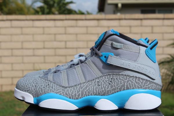 Air Jordan 6 Rings Powder Blue
