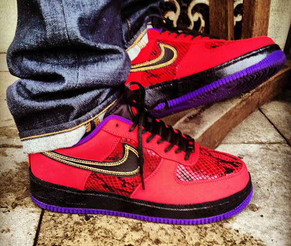 Nike Air Force 1 Low year Of The Snake - Rooog Knows (2)