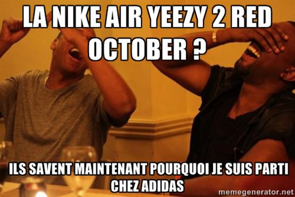 La Nike Air Yeezy 2 Red October : une révolution dans l'univers de la sneaker