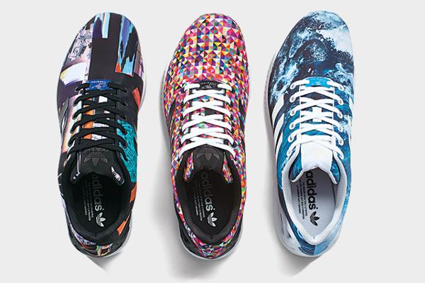 adidas originals zx flux multicolor