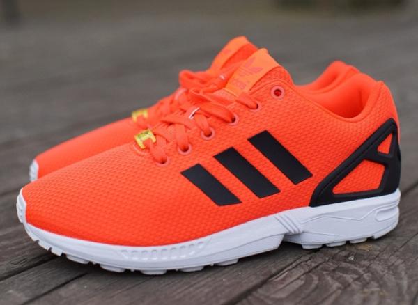 nouveaux styles ef88a ce37c adidas flux zx fluo