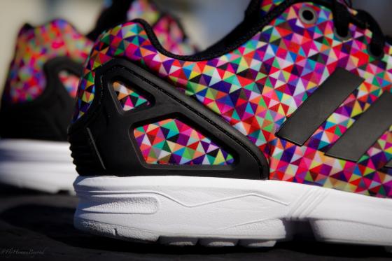Adidas Zx Flux In Multicolor
