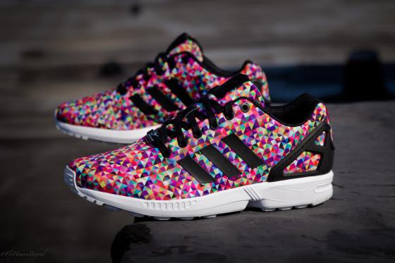 adidas flux zx multicolor