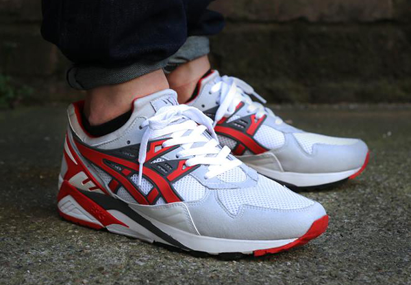 asics gel kayano 15 rouge