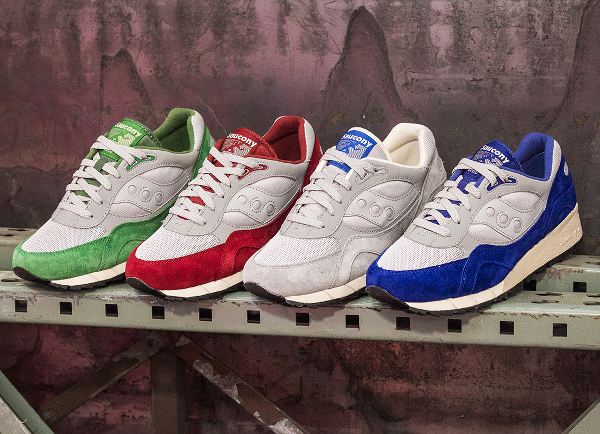 Le pack Saucony Shadow 6000 Grey