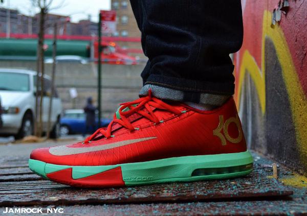 Nike KD 6 Christmas - Jamrock_nyc's