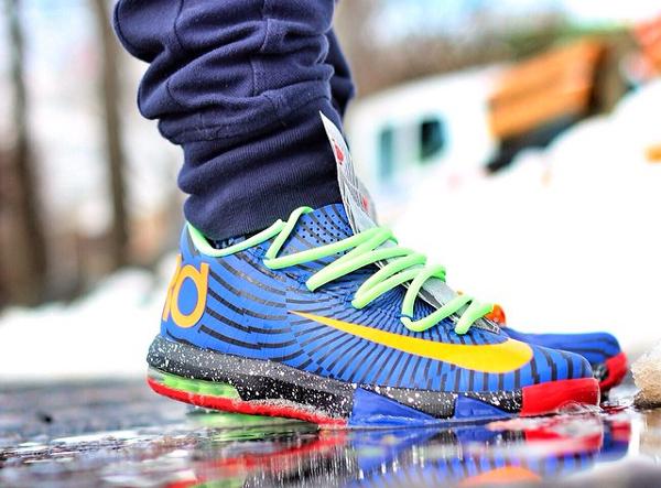 Nike KD 6 Custom - Alvin_sole_23