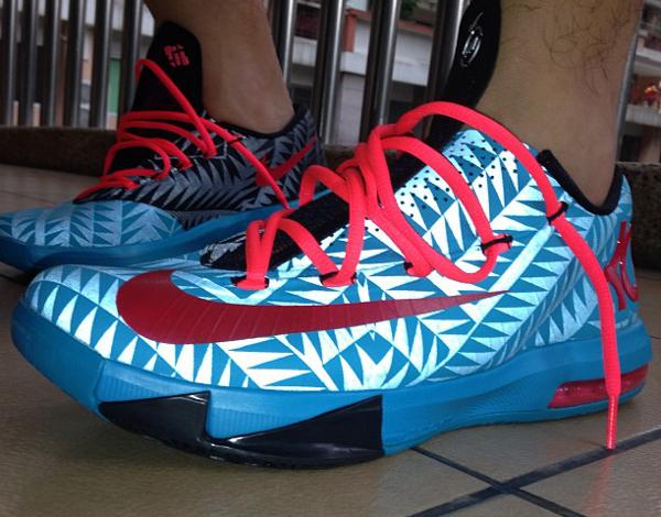 Nike KD 6 N7 - Simon5302