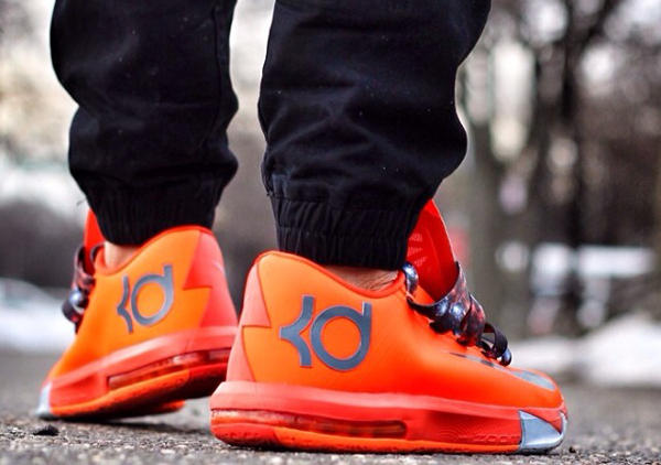 Nike KD 6 Total Orange - Alvin_sole_23