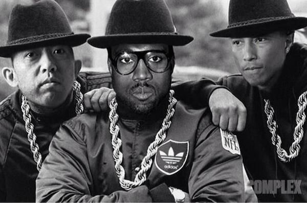 Kanye West, Pharrell Williams et Nigo