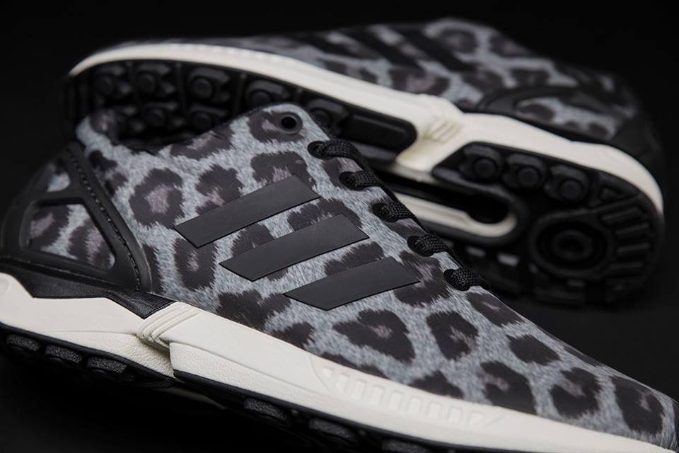 Adidas Flux Leopard Noir