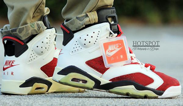 18 réactions de sneakerhead devant la Air Jordan 6 Carmine