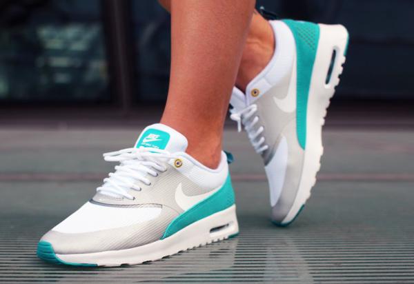 Nike Air Max Thea Game Royal Blue White Silver