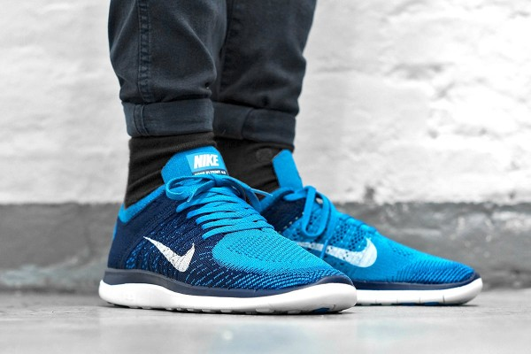 Nike Free Flyknit 4.0 Hommes - Nike Free Flyknit 4.0 Neo Turquoise Nikes Réduction Boutique En Ligne