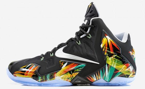 Lebron 11 Everglades & option Nike ID