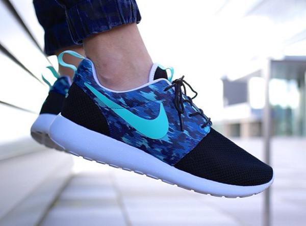Nike Roshe Run Blu Elettrico