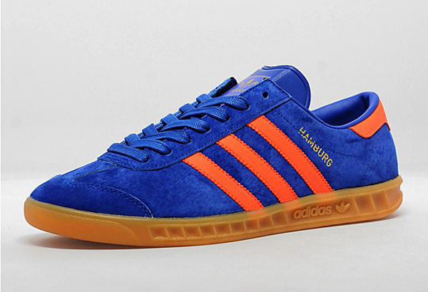 adidas hamburg bleu et orange