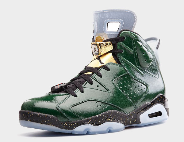 La collection Air Jordan 6 Celebration (Championship)