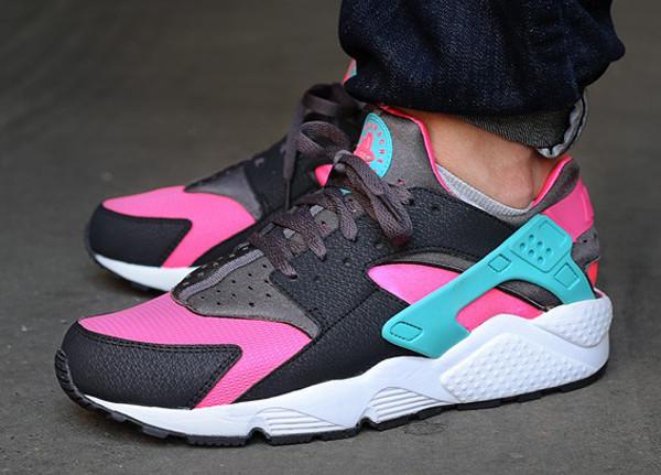 Nike Huarache Rosa Fluo