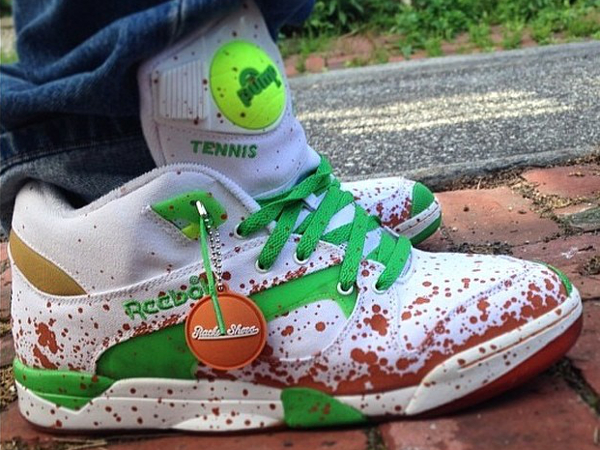 Reebok Pump Court Victory x Packer Shoes - Thehowardmoon