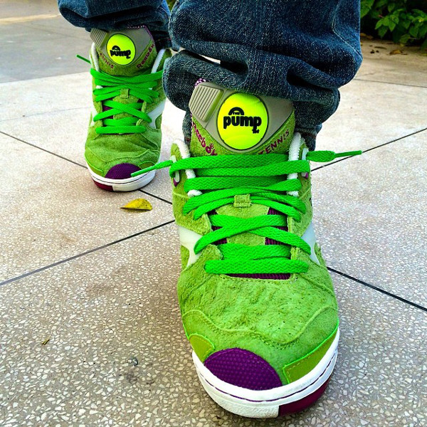 Reebok Pump Court Victory x Packer Shoes Wimbledon - Alberti