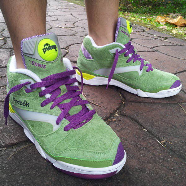 Reebok Pump Court Victory x Packer Shoes Wimbledon - Xananabanana