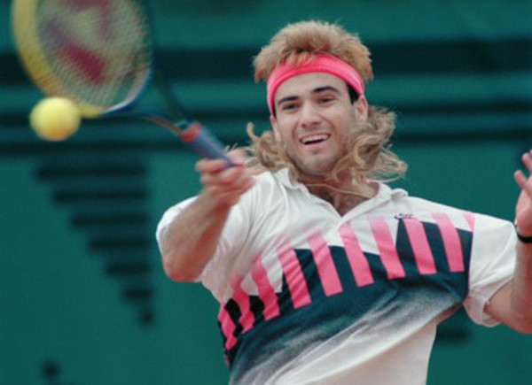 andre agassi nike tech challenge 2 french open