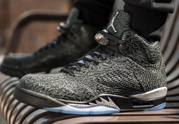 Air Jordan 5 3Lab5 'Metallic Silver'