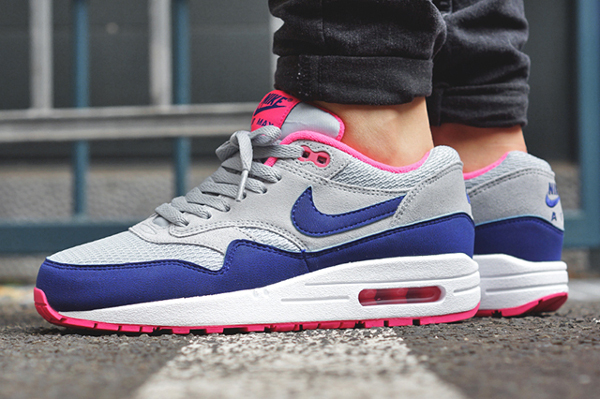 nike air max rose et grise