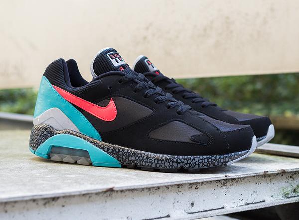 Nike Air 180 safari Black Laser Crimson (4)