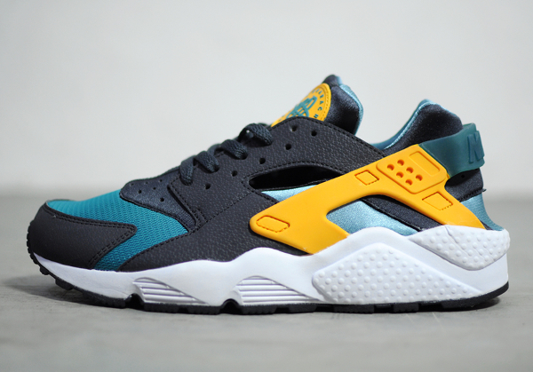 Nike Air Huarache Teal/Orange (Catalina)