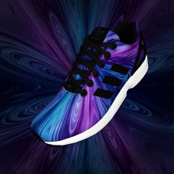 Adidas Mi ZX Flux Nebula - Nastro_azzurro