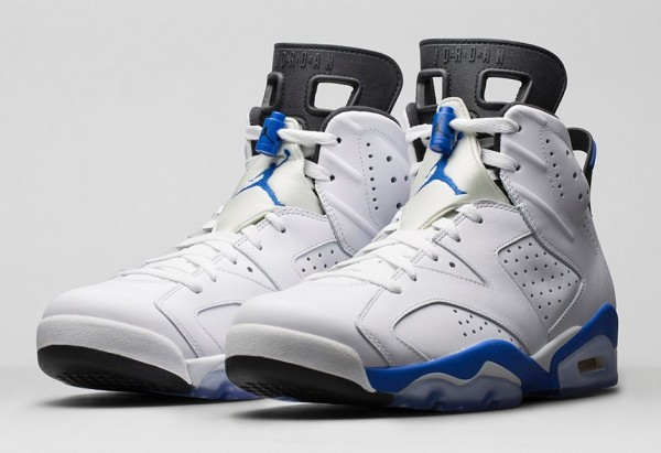 Air Jordan 6 Sport Blue Retro 2014 photo officielle (3)