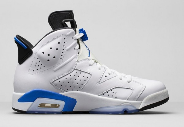 Air Jordan 6 Sport Blue Retro 2014 photo officielle (4)