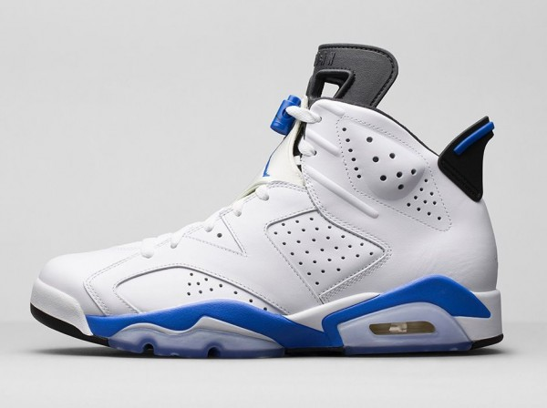 Air Jordan 6 Sport Blue Retro 2014 photo officielle (5)
