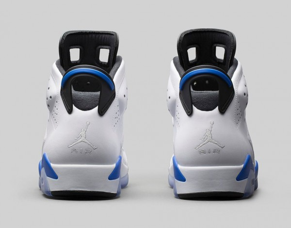 Air Jordan 6 Sport Blue Retro 2014 photo officielle (6)
